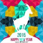 Bonne année de la Chèvre 2015